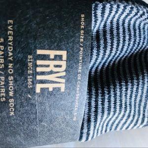 Frye Accessories - Frye no show socks, pack of 5